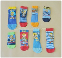 children socks, kids socks, bob the builder socks, 30 pairs/lot