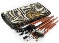 Кисти для макияжа New 22 pc Professional Studio Make Up Brush Set Blue /retail