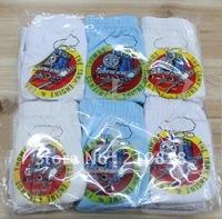 Free Shipping 36pcs/lot cartoon animation locomotive pattern girls / boys 100% cotton underwear, children's briefs &boxer shorts