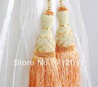 width 2.8M linen fabric jacquard window curtain  Super vertical sense / Customized/ready made