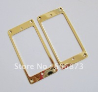 Plating Gold Metal Flat Humbucker Pickup Mounting Ring