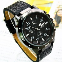Fashion Leather Watch, Wrist Quartz Watch, Quartz Analog Watch Free shipping