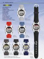 Model GL: LCD watch with EL light