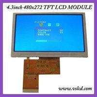 4.3 inch 480x272 tft lcd module