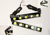 High-power Waterproof 5 pcs 1W Mini 5LED Eagle Eye Fog Driving Lights led Daytime Running light