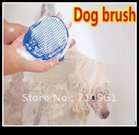 Free shipping Pet Dog Cat Grooming Bath Massage  Brush comb dog brush