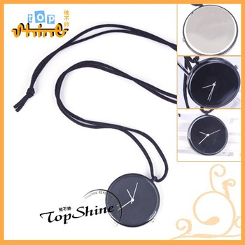 Free Shipping! 2012 Fashion Man Pocket Watch In Black Color D01120o