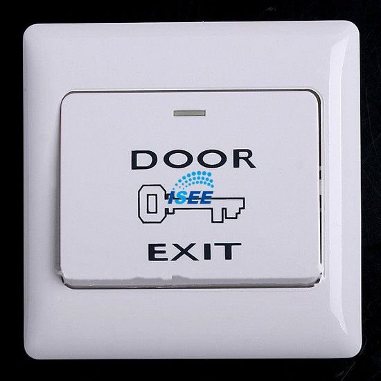 Free Shipping China Post 1pcs Door Release Button Switch for Electric Access Control Security(China (Mainland))