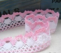 COOTON LACE multicolour,5 colors mixed colorful lace,4.0CM trim lace colorful