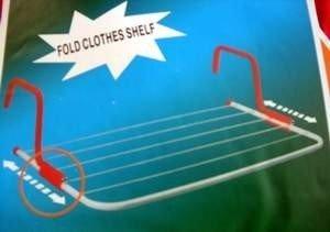 6 wire laundry racks