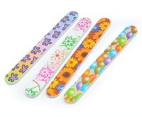 Cheap double faces printing nail file nail care necessary free shipping
