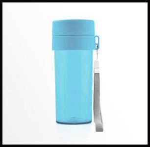 10pcs/lot 300ml Drinking Travel Cup with Stainless Strainer