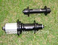 Wholesale Cheap Powerway Lightest Hub 290g/pair, Front 20 holes, rear 24 holes, road bike hub (Black, red, white)