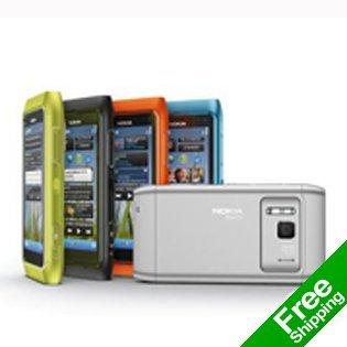 Unlocked Nokia N8  3G WCDMA mobile phone NOKIA N8,WiFi,GPS,10MP high clear camera,Free shipping