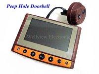 Digital Peep-hole Door Viewer,Doorbell with 4.3inch monitor