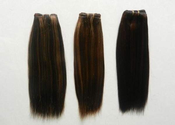 free shipping  SYNTHETIC women weft ADORABLE AFRO-A 6PCS WEFT HAIR EXTENSION