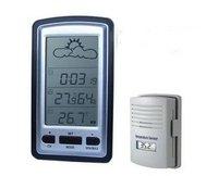 Wireless Weather Station Temperature Sensor 100M Clock 60064