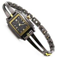 2 colors Luxury KIMIO high quality black dial Stainless Steel Watch women ladies fashion dress wrist watch SBN004