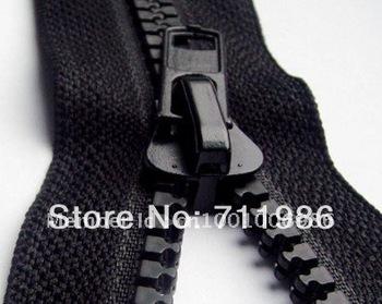 Zipper Factory,Custom size & colour ,whole sale No.8 plastic resin open end zipper, tents zipper  Best garment agent