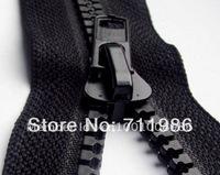 Zipper Factory,Custom size & colour ,whole sale No.8 plastic resin open end zipper, tents zipper,black