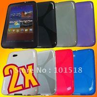 2x Soft TPU Gel Case for Samsung Galaxy Tab 7.0 Plus P6200