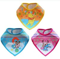 Baby bibs pinnies feeding cloth babys bibs Infant smocks Saliva Towels kids shawl +free shipping 60pcs