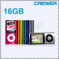 mp3 player 5th 16GB 2.2 LCD Camera Scroll Wheel 1.3MP Camera Fashionable free ship