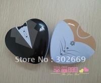 Free Shipping  Wedding TIN BOX Candy Box European American Style 25 sets/lot