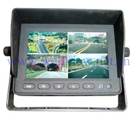 5inch Built-in 4CH Quad LCD Monitor, 800*RGB*480 Display Resolution,with AV IN