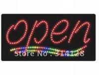 LED Open sign(model NO:HSO0003) 164LED(R:125pcs;G:12pcs;B:12pcs;Y:15pcs) 1PCS