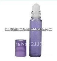 2013 latest 7ml Purple Roll On Bottle roll on glass bottle