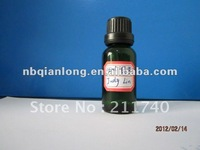 Green essential oil bottle glass vials 15ml with CRC cover