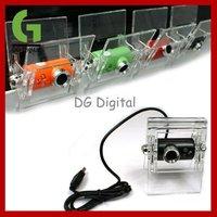 2pcs/a lot/cheap price 8.0M Pixel 3 LED Plastic Clip Driveless Mini USB Webcam Camera for PC / Laptop +Free shipping