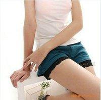 Женская юбка Women's skirt, ladies' short imitation leather skirt Black mini skirts