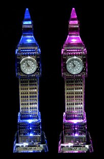 Crystal Big Ben housing model original single United Kingdom London Olympics tourist souvenirs custom gifts