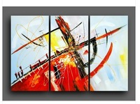 Abstract Oil Painting Canvas Contemporary Art British abstract painting