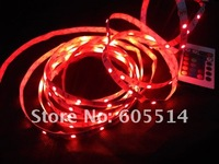 [Seven Neon]Free shipping 12V non-waterproof 30leds/m 5M 150leds 5050 flexible led smd RGB Strip