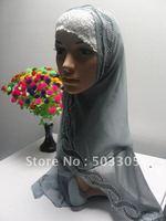 MS12030830 free shipping hot drill silk long scarf with diamond,muslim scarf,islamic scarf,muslim hijab,islamic hijab,inner caps