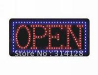 LED open sign (model NO:HSO0009) 150LED (R:113pcs; B:72pcs) 3PCS