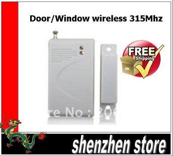 Wireless Door/window Magnetic Sensor Wireless 315 mhz for GSM Burglar Auto Dial Alarm System, Security Home Alarms free ship HK