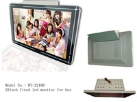 12V-40V wide voltage input 22inch  bus lcd monitor