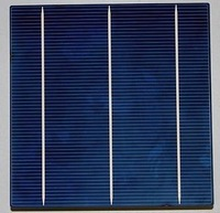 A grade Multi Solar Cell 6x6 3.99w 16.4% Cells  3 Bus Bars for DIY Solar  Panel/System/kits(free shiping)