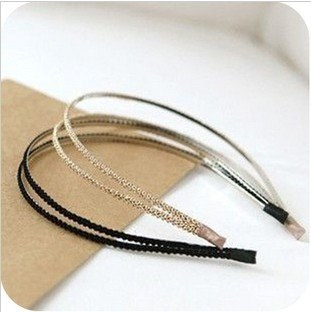Minimal mix styles $5 Vintage Retro Alloy Hairbands Fashion Hair Accessories A16R3C Free shipping