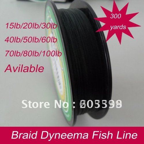 300 yards15lb,20lb, 30lb,40lb,50lb ,60lb,70lb,80lb,90lb,100lbBraid dyneema line Moss green color Fishing product green color(China (Mainland))