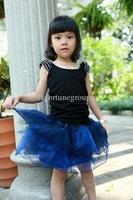 6 Layers 5pcs/lot OEM Service Baby Tutu Skirt Free Shipping Organza & Cotton Petticoat