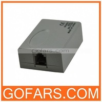 ADSL Modem RJ11 Line Splitter Filter for Phone Telphone ,50 pcs/lot,high quality,free shipping#011