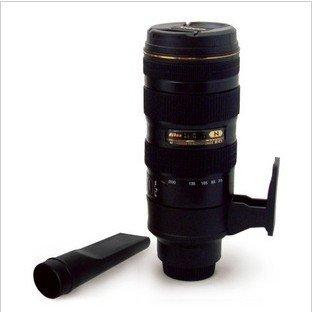 Mini Lens Vacuum Cleaner for car portable auto vacuum cleaner 20pcs/carton wholesale price!(China (Mainland))