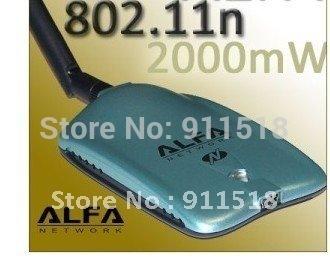 Alfa  AWUSO36NH 802.11N USB Adapter Wireless N 2W