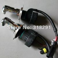 Free Shipping 2X 35W 12V Bi Xenon HID Headlight H4  High Low Beam Replacement Light Bulbs 4300K