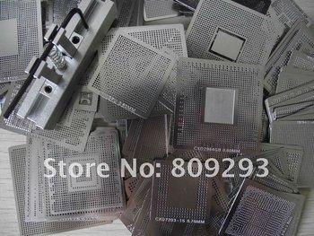Freeshipping ! New Arrival 310 pcs/set Bga Stencil Bga Reballing Stencil Kit with direct heating reballing station ,
